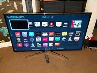 Samsung 46 inch led smart wifi new condition fully working