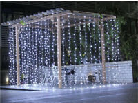 Cool white led curtain lights multi function wedding Christmas 3x3