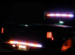 LED construction vehicle tow truck security warning strobe light