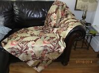 Lovely Vintage Shower Curtains Quality ! Rideau douche Ancienne