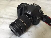 Canon EOS 7D with Tamron 28-75mm lens