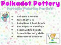 Pottery Painting Parties for children and adults