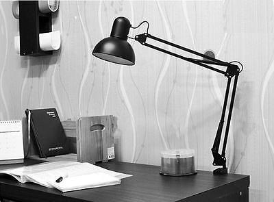 New Table Lamp Swing folder Arm Drafting Studio Design Office Clip Desk Light