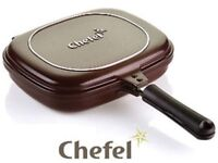 Chefel double sided non stick pan