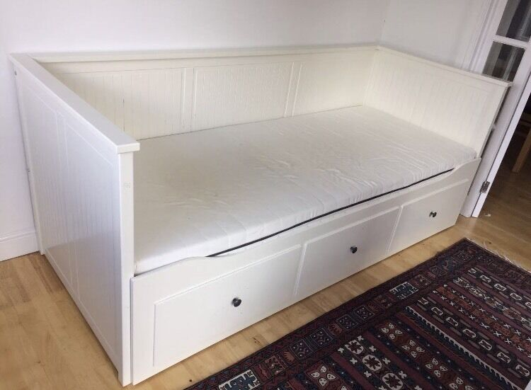 Ikea Hemnes Day Bed With One Mattress In Rotherham