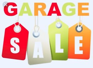 Huge Family Garage Sale Sept 22 Saturday at 224 Ontario St