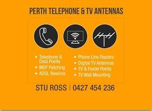 Perth Telephone & Tv Antennas Perth Perth City Area Preview