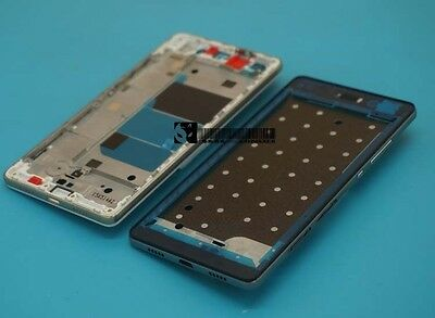 For Huawei Ascend P8 Lite black Middle Frame Faceplate Bezel Front Housing Cover