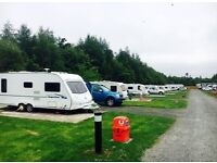 ** Book a touring pitch at Percy Wood from only £25.00 per night**