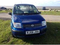 06 FIAT PANDA 1.2 DYNAMIC 5 DOOR IN BLUE METALLIC ONLY 20K 1 OWNER FROM NEW CHEAPER TAX & INSURANCE