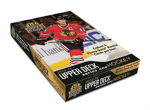 2014-15 Upper Deck Series 1 Hockey Cards Box