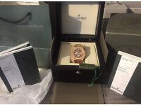 Ap Audemars Piguet Gold Chronograph New