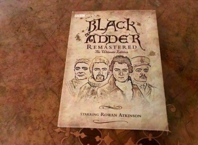blackadder remastered the ultimate edition dvd