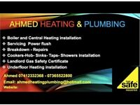 AHMED HEATING GAS ENGINEER AND PLUMBING SERVICES