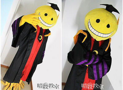 Assassination Classroom Korosensei Cosplay Mask Cloak Set Halloween Cos - Classroom Halloween Costumes