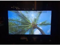"""Blaupunkt 40"""" inch Full HD 1080p LED TV Freeview as new"""