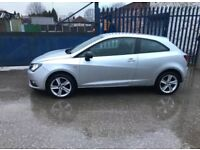 Seat Ibiza 1.4 16v Sport coupe Toca 2013 Damaged repairable repairs cheap tax