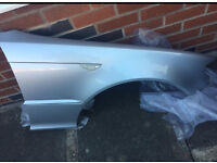 BMW E46 Facelift Coupe Convertible Titan Silver Drivers Wing