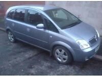 2004 VAUXHALL MERIVA 1.8 DESIGN PRIVACY GLASS ALLOY WHEELS DRIVES GREAT!