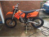 KTM 400 EXC 2004