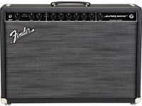 Fender SUPERSONIC 60 Tube Valve AMP AMPLIFIER Vibrolux Bassman circuits Spring Reverb