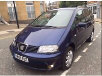 2005 SEAT ALHAMBRA 1.9 TDI *** ONLY £1550 **