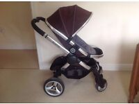 Icandy peach 2 with main seat car seat and car seat adapters