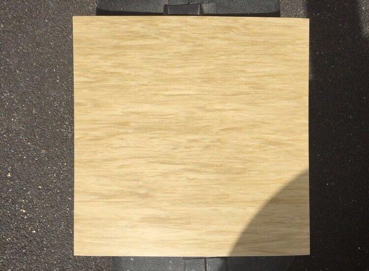 50 cream Vinyl Floor Tiles
