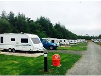 **Book a seasonal touring pitch for £2175.00 at Percy Wood Country Park, Northumberland**
