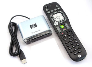 NEW Genuine HP USB Microsoft MCE Media center IR HP Remote Control RC6 Kit