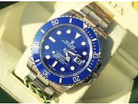 Rolex smurf submariner £300 or £350 with box and papers