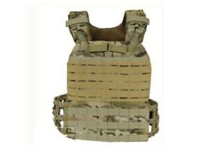 Tactical Weight Vest Plate Carrier With 2 x 8.75lb Plates Included