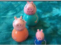 Peppa pig weebles set