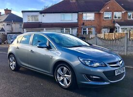 62 plate 2012 Vauxhall Astra 1.6 SRI Facelift 3 owners LOW MILES FULL SERVICE HISTORY