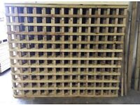 🌲Pressure Treated Wooden Trellis Fence Panels * High Quality * Garden Panels
