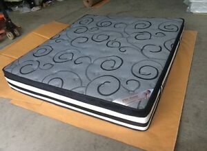 Brand new memory foam pillow top with bamboo fabric -pocket springs Brisbane City Brisbane North West Preview