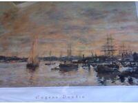 Eugène Boudin Water Colour Painting Very Rare