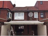 5 metre top Quality electric awning