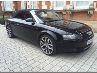 AUDI A4 CONVERTIBLE 2.5 TDI ++HUGE SPEC++ FSH ++ LOW MILAGE++FULL SERVICE HISTORY