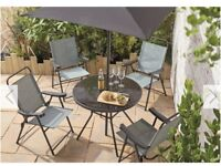 SOLD Alicante Garden Table With 4 Chairs