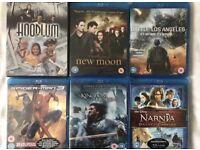 Brand new blu ray DVD's and DVD
