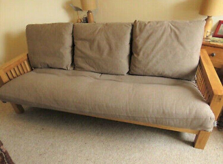 Oke 3 Seater Futon Company Sofa Bed