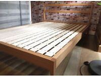 Beautiful elegant Habitat double bed frame, 4ft6, excellent condition