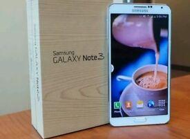 Samsung Galaxy Note 3 32GB White On 3 Network