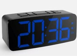 Large LED Display Digital Alarm Clock Radio FM Radio Sleep Timer Alarm Clock