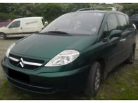 BREAKING 2004 CITROEN C8 2L DIESEL -- NO TEXTS PLEASE - NEWRY / ARMAGH