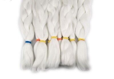 Glowing Synthetic Jumbo Braids Shining In The Darkness Braiding Hair Extensions - Glow Hair Extensions
