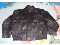 Motorbike Leather jacket for man , size XL, in very good condition. £40