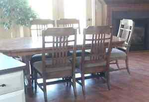 Large table and chairs $300  Belleville Belleville Area image 1