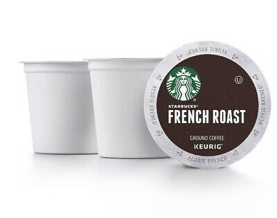 STARBUCKS French Roast Coffee K-Cups 72 ct Dark Roast READ DESCRIPTION